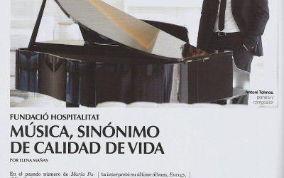 Música, sinónimo de calidad de vida.