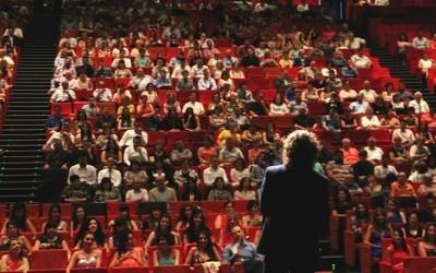 Discurso de graduación en la Llotja de Lleida