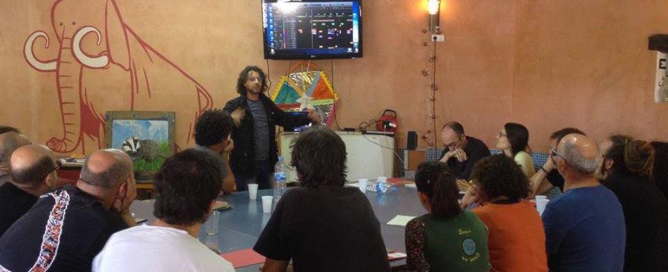 Antoni Tolmos en les Jornades CREA