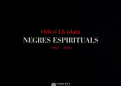 CD Espirituales Negros (2011)