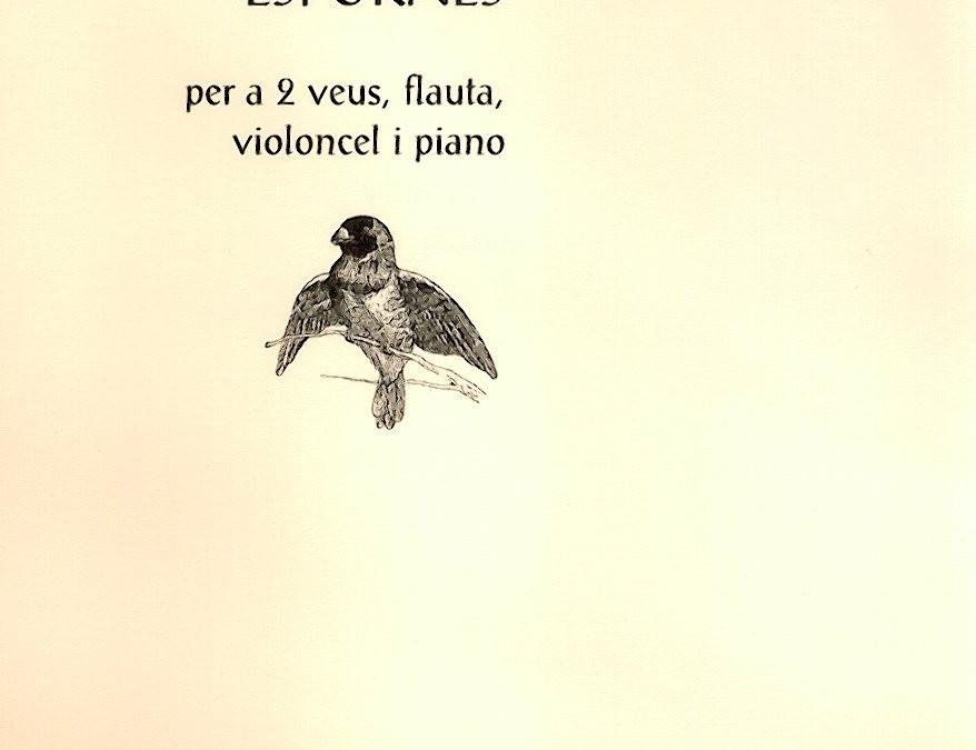 Espurnes. Per a cor infantil, flata, cel.lo i piano (2009)
