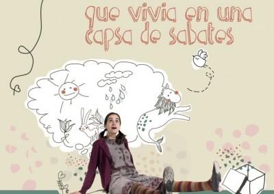 CD La nena que vivia en una capsa de sabates (2015)