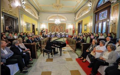 Antoni Tolmos, institucional proclamation in Lleida