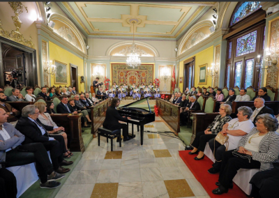 Antoni Tolmos offered the institutional proclamation