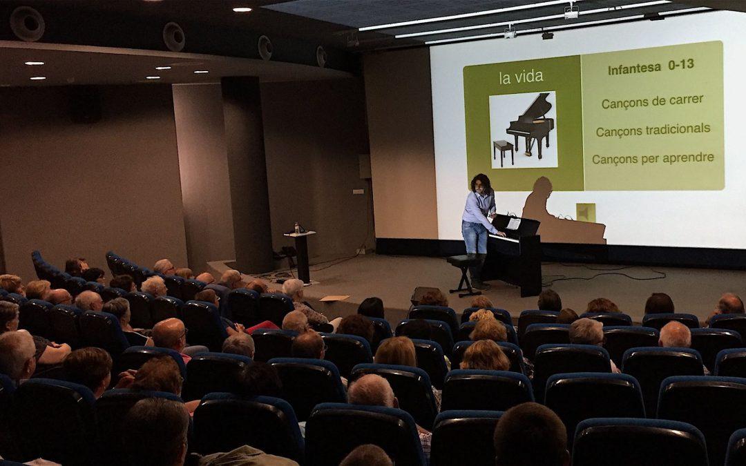 Conferència a Almacelles