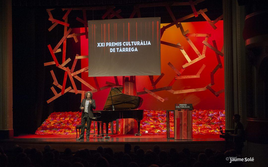 Antoni Tolmos en los Premios Culturàlia