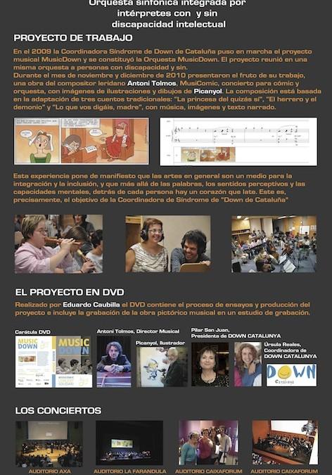 MusicDown, una experiència integradora (2012)
